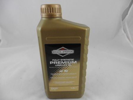 original Briggs & Stratton Long-Life Oil Motoröl Öl 4-Takt 5W30 1Liter 100007S