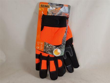 OZAKI Schnittschutzhandschuhe Kettensäge Kl. 0 Sommer-Edition Forst Handschuhe
