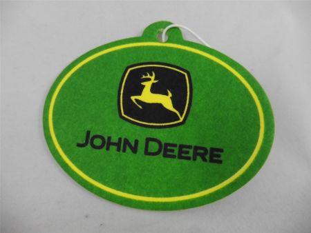 John Deere Lufterfrischer Duftbaum Waldduft Logo Auto Traktor Gator Pick Up