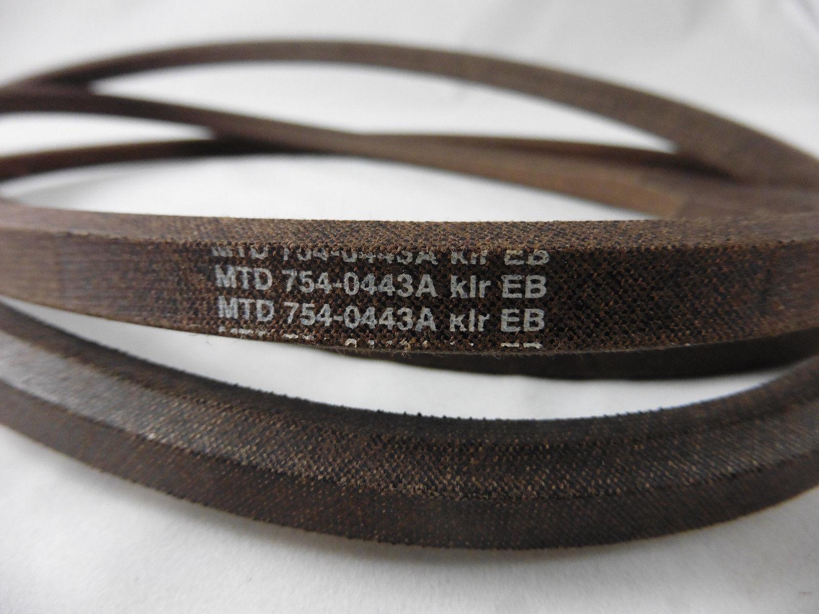passend MTD Keilriemen Rasentraktor Mähdeckantrieb 754-0443A 6-kant AA 88 102cm