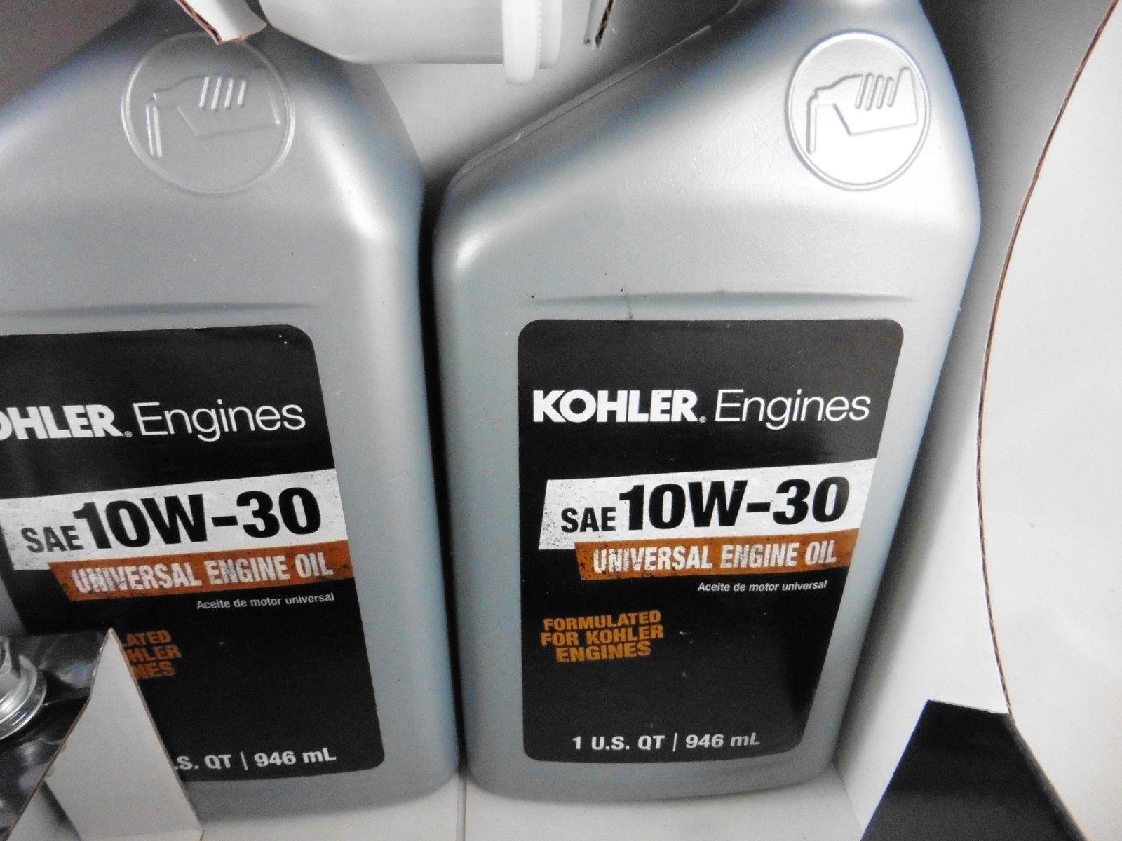 original Kohler Wartungskit Service Kit Luftfilter Ölfilter Zündkerze CV CH