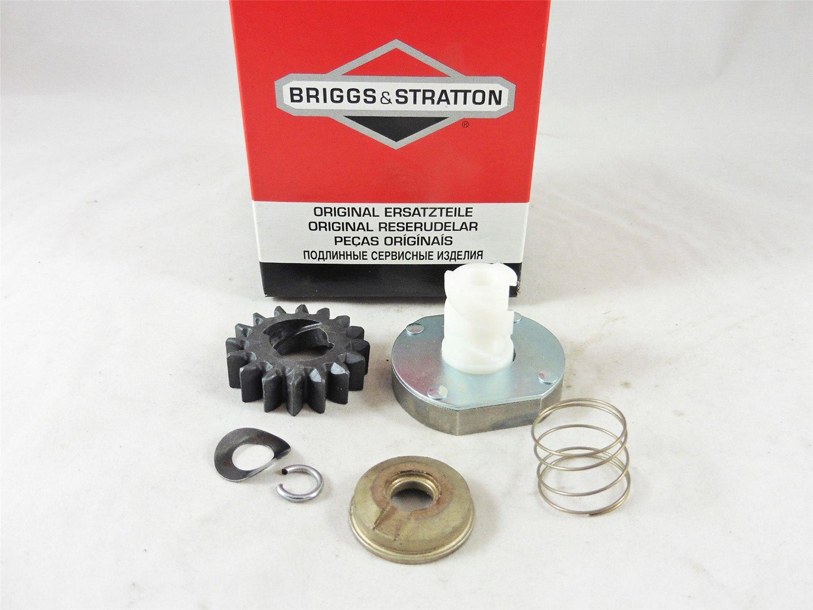original Briggs Stratton Reparatursatz Elektro Starter Anlasser 696541 Ritzel