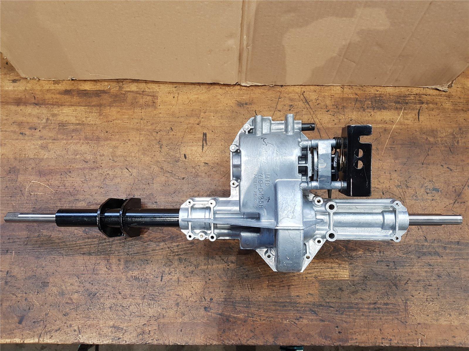 618-0139B Original MTD Messerspindel vollst für Rasentraktoren 918-0139B
