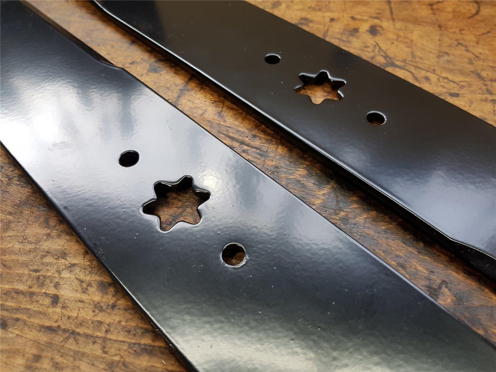 original MTD Mulchmesser für MTD 96 97 Rasentraktor 742-0675 Messer WOLF LUX